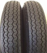 2 Two 480-8 4.80-8 6 Ply Rated Heavy Duty Hi Way Speed Trailer Tires New