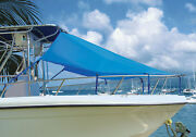 Center Console T-top Boat Bow Sun Shade 6'l X 90w - 9 Colors Available