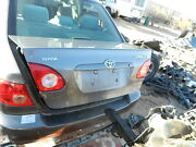 2003 2004 2005 2006 2007 2008 Toyota Corolla Trunk Lid Boot Assembly