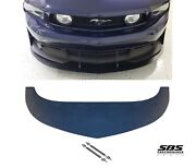 Front Splitter And 2 Support Rods 2010-2012 Mustangs W/ Boss 302, C/s Valance Only