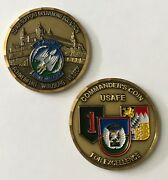 Usaf Tacp 2nd Air Support Ops Sq 2 Asos Army Big Red 1 Usafe Command Coin