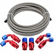 Braided Ptfe Hose Line Oil/fuel Feed/return Line With Seal Ptfe Hose Fittings