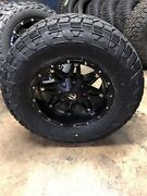 17x9 Fuel D531 Hostage Fuel At Wheel And Tire Package 5x5 Jeep Wrangler Jl Jk