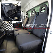 Iveco Daily Tipper Truck Tailored Front Seat Covers Single + Double 2018 On 235