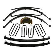 For Ford F-350 86-97 5-6 X 3.5 Softride Front And Rear Suspension Lift Kit