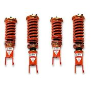 For Honda S2000 01-09 1-2.5 X 1-2.5 St-p Front And Rear Lowering Coilover Kit