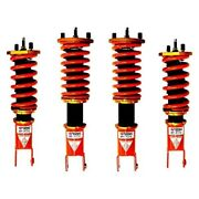 For Honda S2000 01-09 1-2.5 X 1-2.5 Dt-p Front And Rear Lowering Coilover Kit