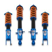 For Infiniti G37 08-13 1-2.5 X 1-2.5 Dt-p Front And Rear Lowering Coilover Kit