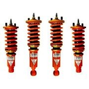 For Acura Integra 94-01 Coilover Kit 1-2.5 X 1-2.5 Dt-p Front And Rear