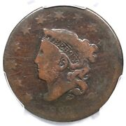 1830 N-11 R-5 Pcgs Ag 03 Lg Letters Matron Or Coronet Head Large Cent Coin 1c