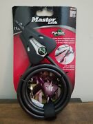 Master Lock 8417d Python Adjustable Locking Cable 6 Foot Bicycle Cooler Tree