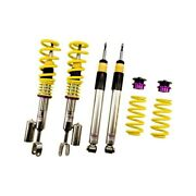 For Audi Rs4 07-08 Coilover Kit 0.6-1.8 X 0.4-1.4 V3 Inox-line Front And Rear