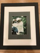 Autographed And Authenticated Tiger Woods Photo 2000