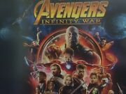 Avengers Infinity War 4-lithograph Set Disney Store Exclusive