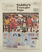 Vintage Vogue Sewing Pattern_girl And Boy Outfit + Appliques_smocking_size 1_uncut