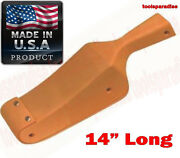 14 Auto Body Curve Wood Shaping Hammer Slapper Sheet Metal Beater Leather Face