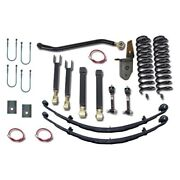 For Jeep Cherokee 84-01 Suspension Lift Kit 4.5 X 4.5 Ultimate Short Arm Front