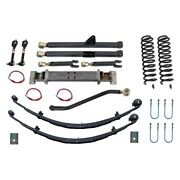 For Jeep Cherokee 84-01 4.5 X 4.5 Front And Rear Long-travel Suspension Lift Kit