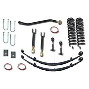 For Jeep Cherokee 84-93 4.5 X 4.5 Entry Level Front And Rear Suspension Lift Kit