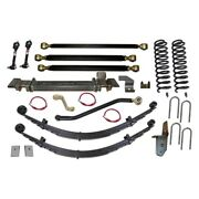 For Jeep Cherokee 84-01 Long-travel Suspension Lift Kit 6.5 X 6.5 Pro Series 3