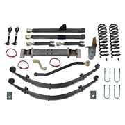 For Jeep Cherokee 84-01 6.5 X 6.5 Front And Rear Long-travel Suspension Lift Kit