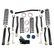 For Jeep Wrangler Jk 18 3.5 X 3.5 Premium Front And Rear Suspension Lift Kit