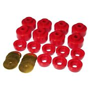 For Chevy Silverado 1500 99-07 Prothane Body Mount And Radiator Support Bushings