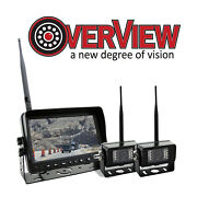 Overview Digital Wireless Backup Camera 7in Led Monitor W/ 2 Cameras