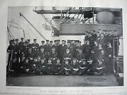 Lord Walter Kerr And His Officers 1896.