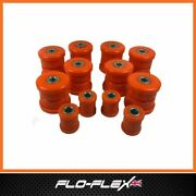Suzuki Jimny Suspension Bushes Kit Front And Rear In Poly Flo-flex