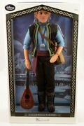 Authentic New Disney Store Frozen Kristoff Doll Limited Edition Coa 18 March