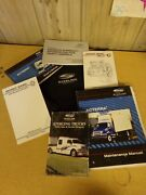 Sterling Trucks Ownerand039s Maintenance Manuals W/ Canvas Carrying Bag