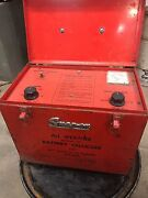 Vintage Snap-on All Weather Battery Charger Mt-630 Rare Find