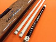 Longoni Carom Cue Blades With S20 Shafts And Soyuz Case