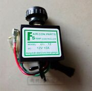 10pcs 12v Car Ac Thermostat Switch Adjustable Electronic Temperature Control