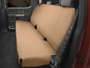 Weathertech Small Highback Bench Seat Protector In Tan For Trucks Cars Suvs
