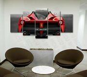 5 Piece Luxury Multi Option Cars Painting Canvas Print Poster Wall Art P