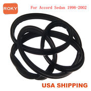 Trunk Deck Lid Rubber Weather Strip Seal Stripping For Accord Sedan 1998-2002