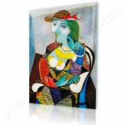 Marie Therese Walter By Pablo Picasso | Ready To Hang Canvas | Wall Art Hd