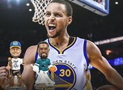 Golden State Warriors Steph Curry And Kevin Durant Bobblehead 2018