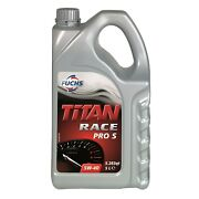 Fuchs Titan Race Pro S 5w40 Fully Synthetic Ester Engine Oil 5 Litres
