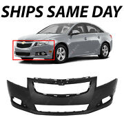 New Primered- Front Bumper Cover Replacement Fascia For 2011-2014 Chevy Cruze Rs
