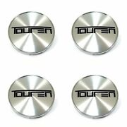 4x Touren Machined Silver Snap In Wheel Center Hub Caps For Tr71 3271