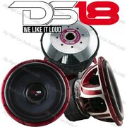 Ds18 Hool X15.1d 15 Subwoofer 6000w Max Dual 1ohm 15in Spl Bass Competition Sub