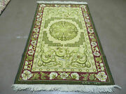 3and039 X 5and039 Vintage Hand Made American Made Hooked Rug Emv 1977 Nice