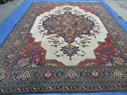 10and039x 13and039 Antique Hand Made Turkish Wool Rug Carpet Room Size Xlarge