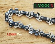 2-pack 18 Chainsaw Chain Blade Echo 3/8 Lp .050 62 Dl Fits 30 Echo Models