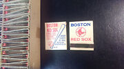 50 Complete Matchbooks 1965 Boston Red Sox Schedule Ultra Rare