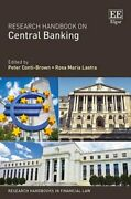Research Handbook On Central Banking By Peter Conti-brown Used