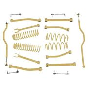 For Jeep Wrangler Jk 18 Complete Lift Kit 2.5 X 2.5 Non-adjustable Front And